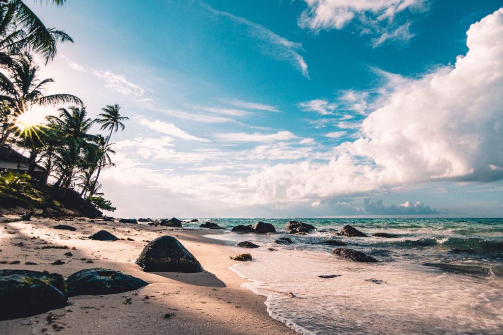 afrikansk strand