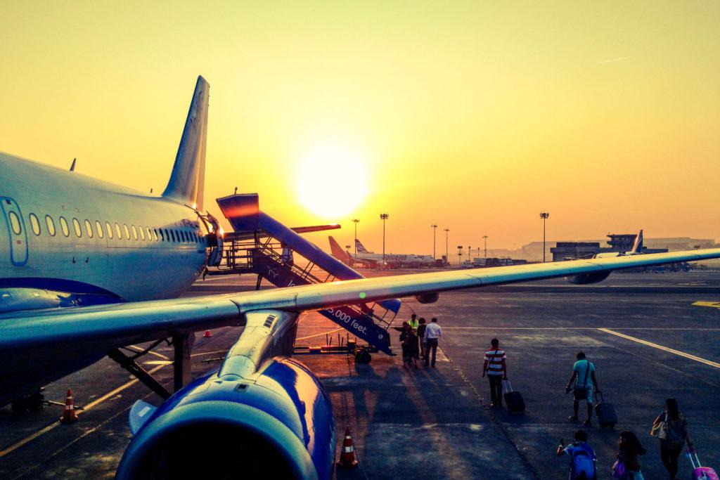 fly til afrika